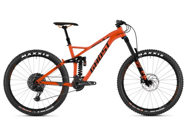 GHOST Framr 6.7 AL U - 27.5 - monarch orange / night black 2019