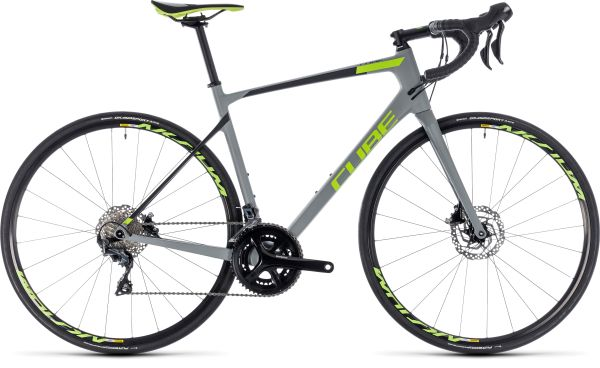 Cube Attain GTC Race Disc - 28 - grey´n´green 2018